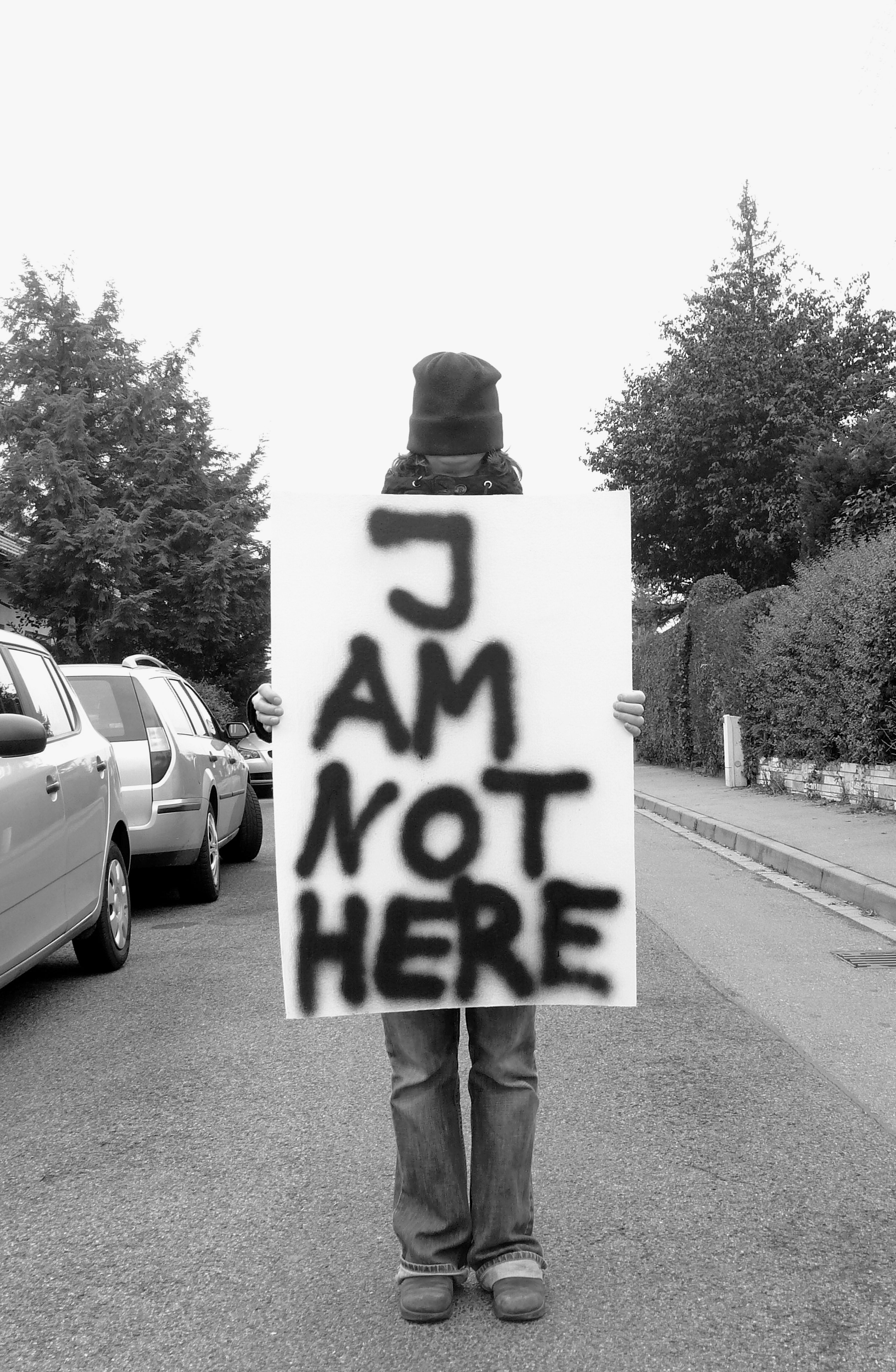 I am not here